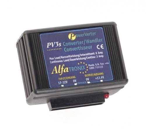 Convertisseur 24/12 VDC Alfatronix pour des appareils en 12Vcc | MRT