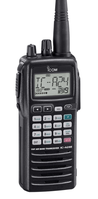 ICA24FR Emetteur/Récepteur portable aviation VHF + VOR
