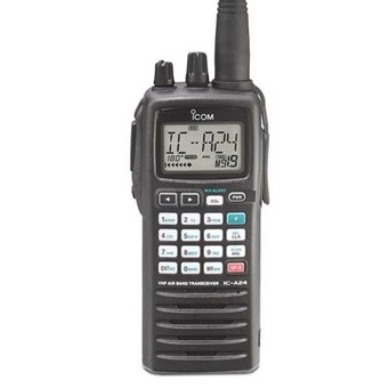 IC-A6FR Emetteur/Récepteur portable aviation VHF + VOR | MRT