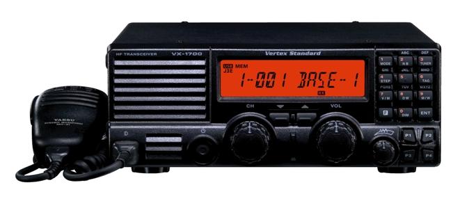 Emetteur Recepteur HF multimode VX-1700 de 125 Watts | MRT