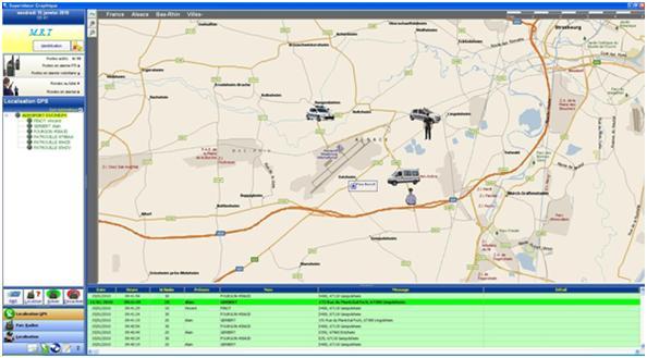 DMRAlert Geoloc Géolocalisation, suivre à la trace votre flotte GPS