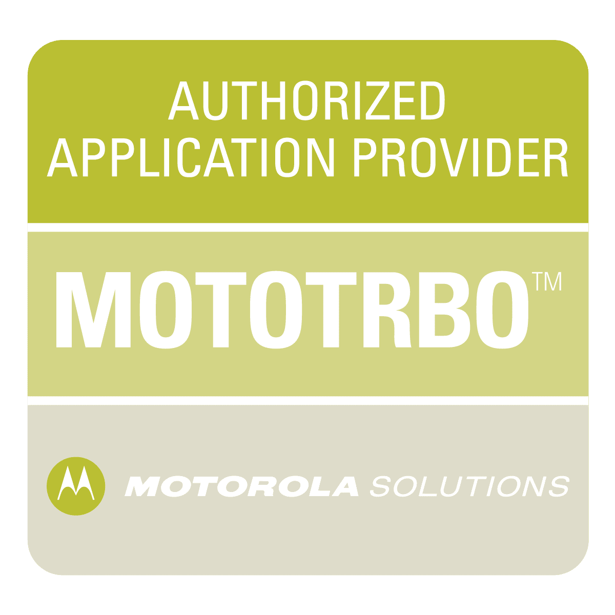 Authorized Application Provider MOTOTRBO