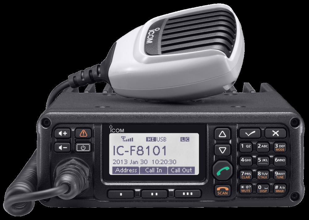 Mobile IC-F8101 ICOM Emetteur-récepteur radio HF | MRT